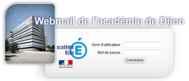 Webmail de l'académie de Dijon