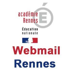 Webmail Rennes Académie sur webmail.ac-rennes.fr