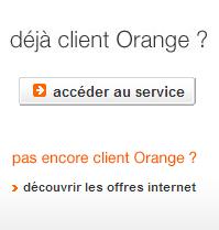 Accédez à votre compte Orange