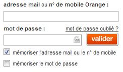 Connectez vous à votre compte Orange