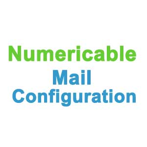 Numericable Mail configuration - webmail.numericable.fr