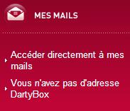 Accédez à votre compte DARTY BOX